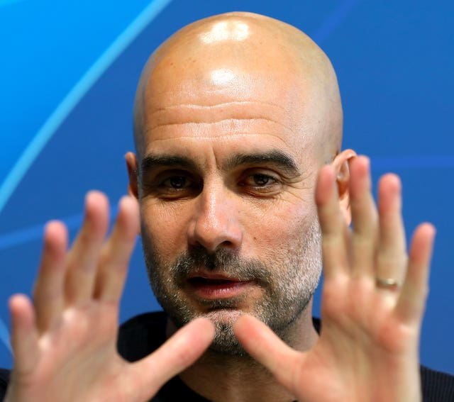 Pep Guardiola is confident Manchester City have enough strength in depth