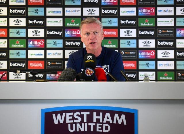 David Moyes Unveiling as West Ham United Manager
