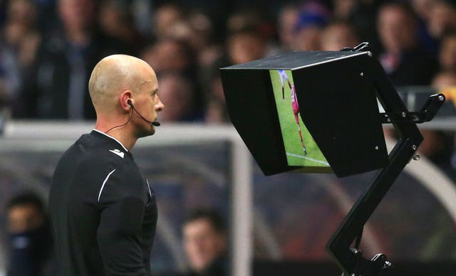 VAR was introduced at the start of the 2019-20 Premier League season (Andrew Milligan/PA)