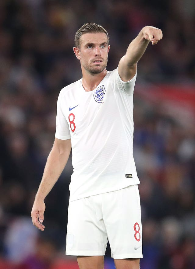 Jordan Henderson paid tribute to Raheem Sterling following his performance against Kosovo