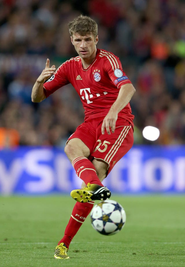 Thomas Muller led the way for Bayern against Besiktas.