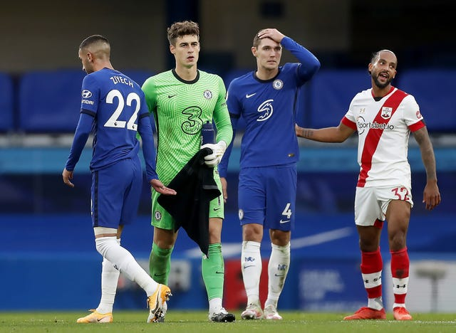 Kepa had another day to forget against Southampton