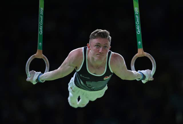 Gymnast Nile Wilson won four Commonwealth Games gold medals for England