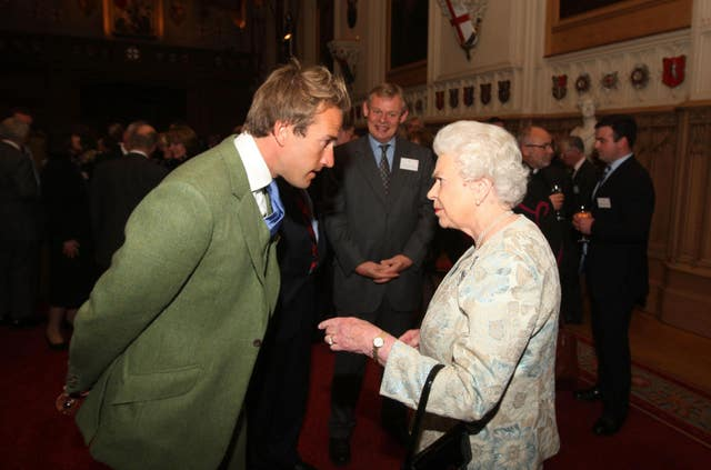 Ben Fogle and the Queen