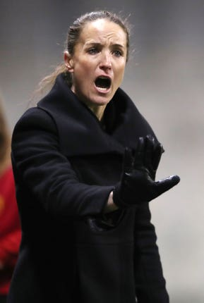 Casey Stoney does not think society is ready for a women to manage a men's team
