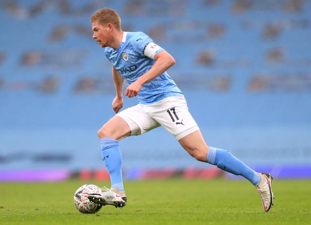 City playmaker Kevin De Bruyne is fit again after injury