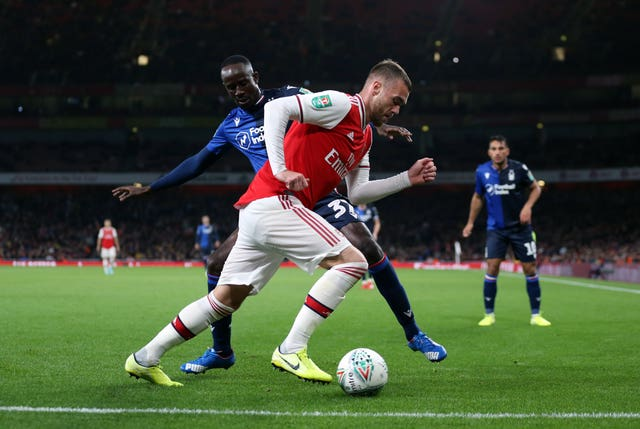 Arsenal v Nottingham Forest – Carabao Cup – Third Round – Emirates Stadium