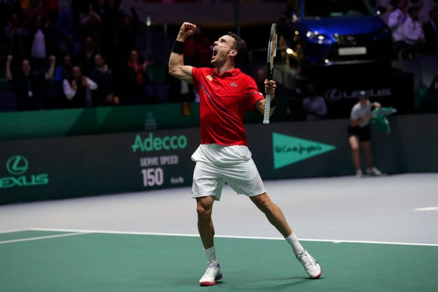 Roberto Bautista Agut helped Spain win the Davis Cup just three days after the death of his father