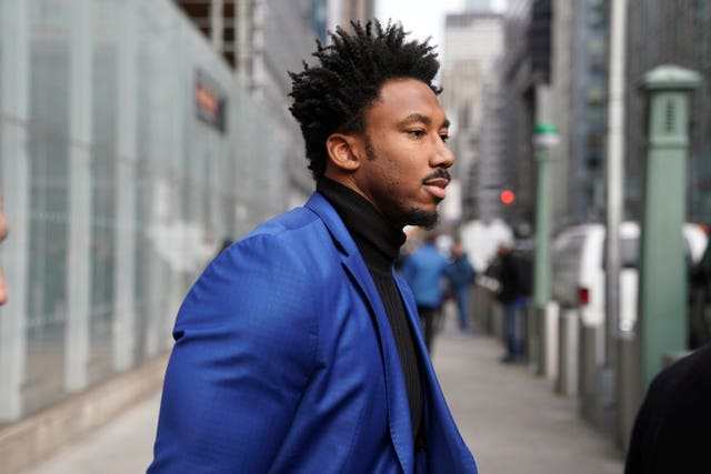 Myles Garrett leaves his appeal hearing in New York