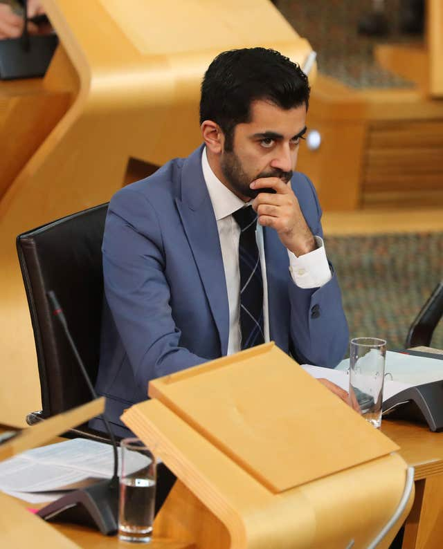 Islands Minister Humza Yousaf