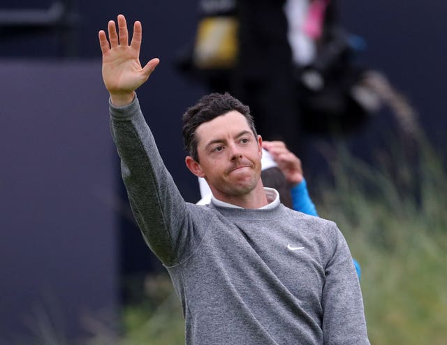 Rory McIlroy missed the cut in the Open Championship at Royal Portrush