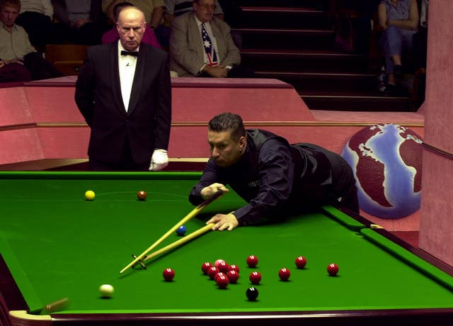 Tony Drago in action at the Crucible