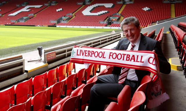 Roy Hodgson was appointed Liverpool manager soon after Fulham's defeat