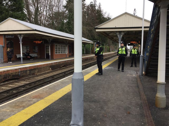 Horsley train stabbing