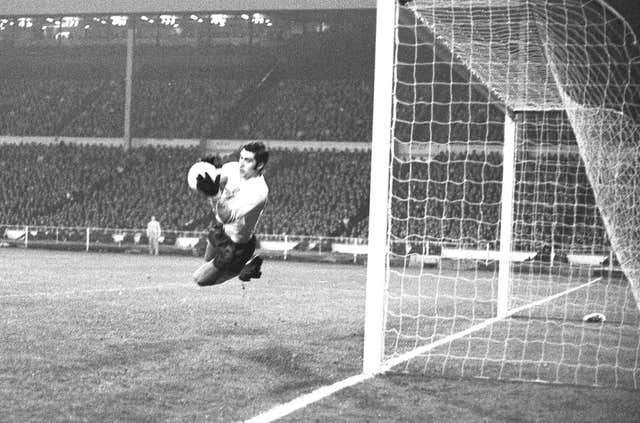 Peter Shilton made his England debut against East Germany in 1970