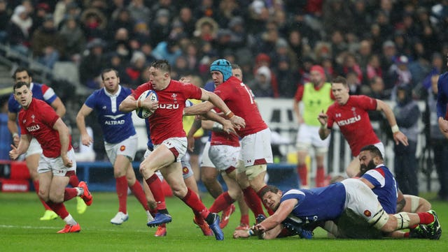 Wales battled back to secure victory in France