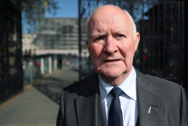 Liam Shannon, one of the so-called Hooded Men