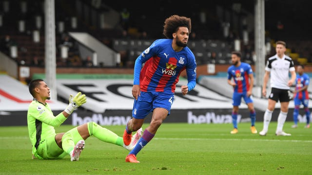 Dutchman Jairo Riedewald fired the Eagles into an early lead at Craven Cottage