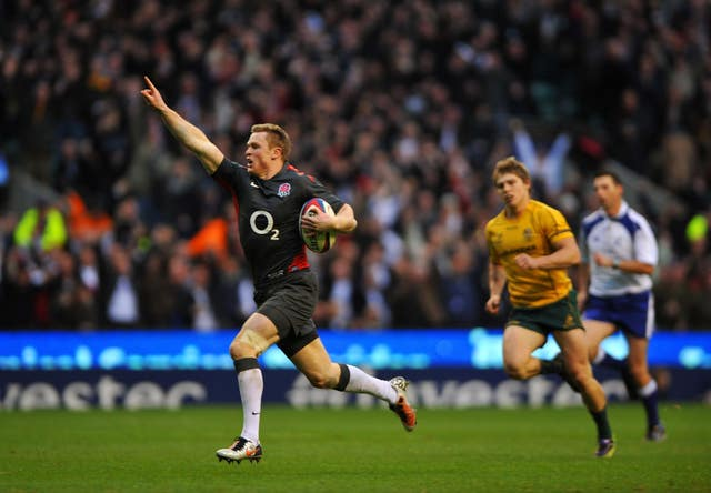 Chris Ashton scored a memorable try against Australia