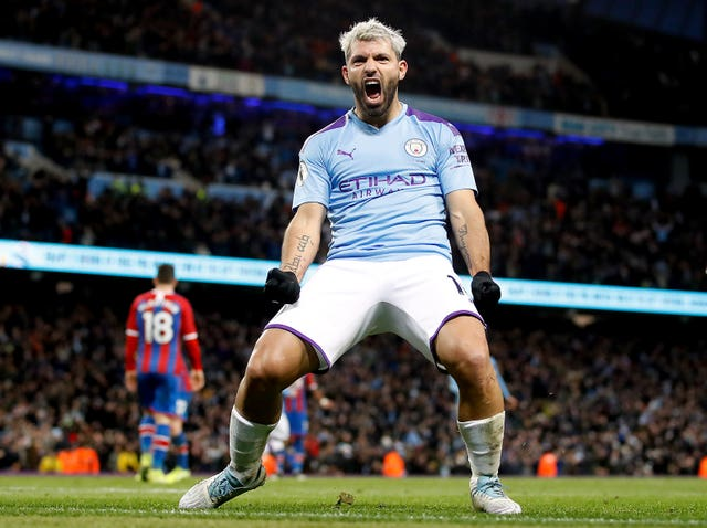 Aguero has scored 257 goals for City but could line up against them next season