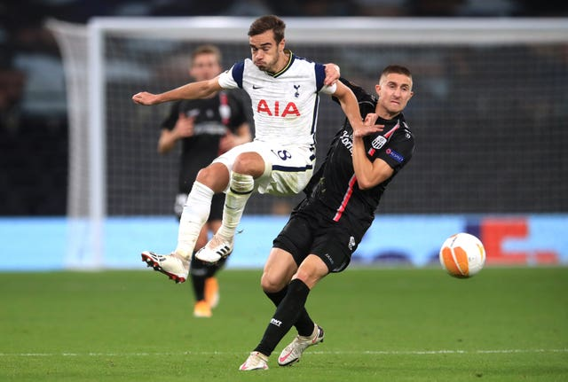 Harry Winks has only featured in four of Tottenham's nine games in the Premier League this season