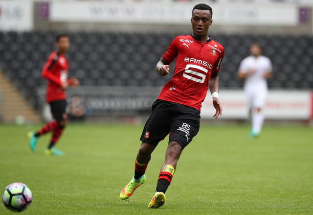 Rennes' defender Edson Mexer has been linked with a move to Rangers