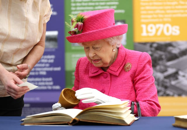 Queen Elizabeth II visit to Cambridge