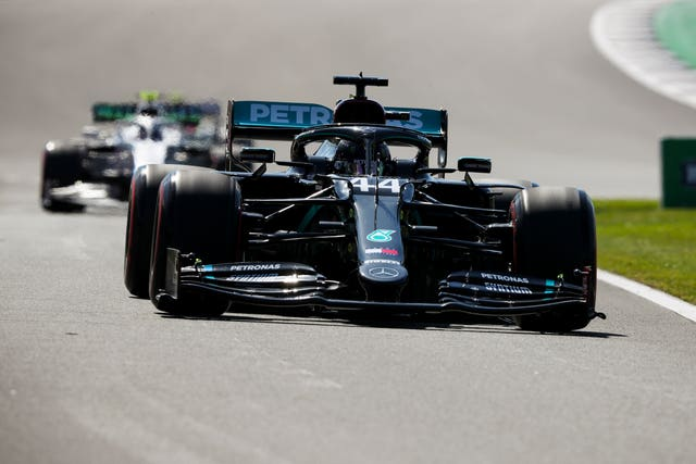 Lewis Hamilton could only finish fifth in second practice