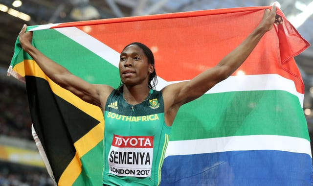 Caster Semenya is a two-time Olympic champion