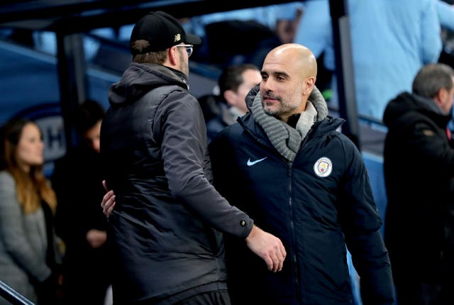 Pep Guardiola's side are targeting a quadruple
