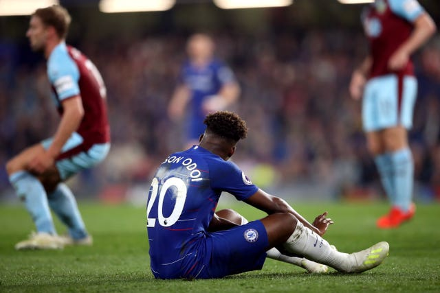 Hudson-Odoi suffered a torn Achilles in April and made a quick recovery
