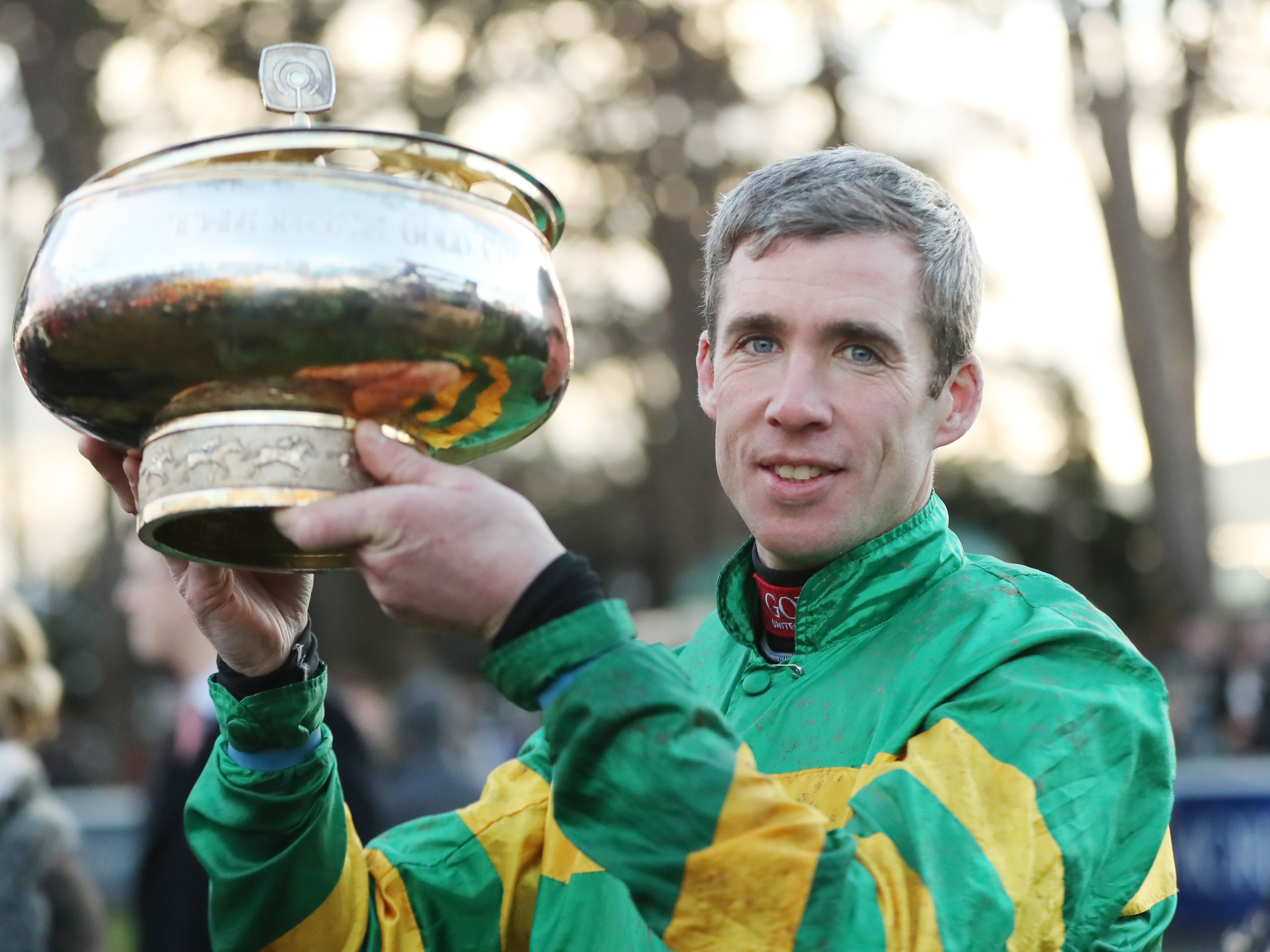 Derek O'Connor landed the Amateur National at Punchestown (Niall Carson/PA)