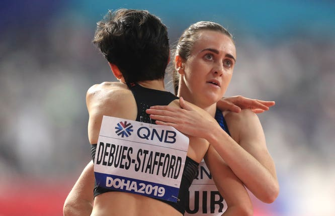 Laura Muir is in the 1500m final