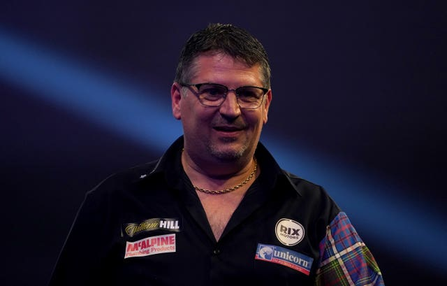 Taylor believes the break could help Gary Anderson