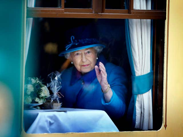 The Queen on the Borders Railway