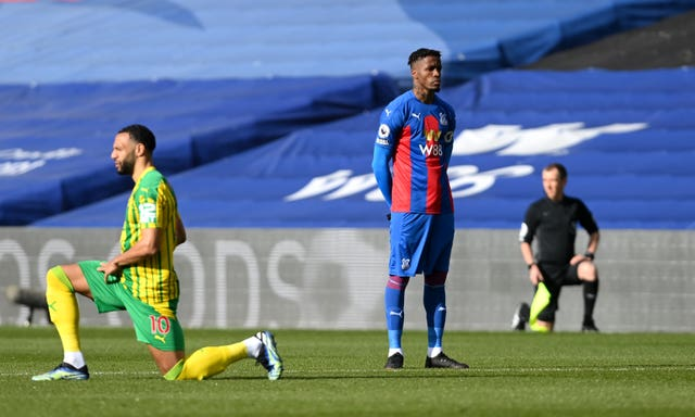 Crystal Palace v West Bromwich Albion – Premier League – Selhurst Park