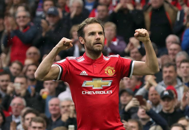 Mata has scored 45 goals for United