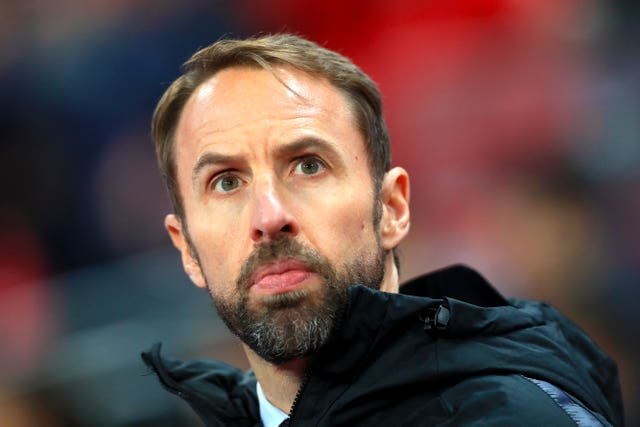 Southgate's team had been due to face Italy and Denmark this month (Mike Egerton/PA).