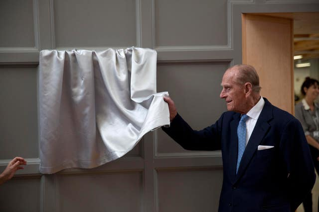 The Duke of Edinburgh visits Richmond Adult Community College