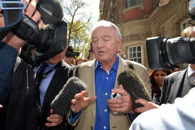Ken Livingstone was suspended over an anti-Semitism row (PA)