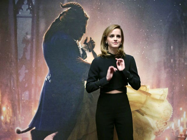 Emma Watson was the highest grossing British actor, helped by the success of Disney's Beauty and the Beast (Yui Mok/PA)