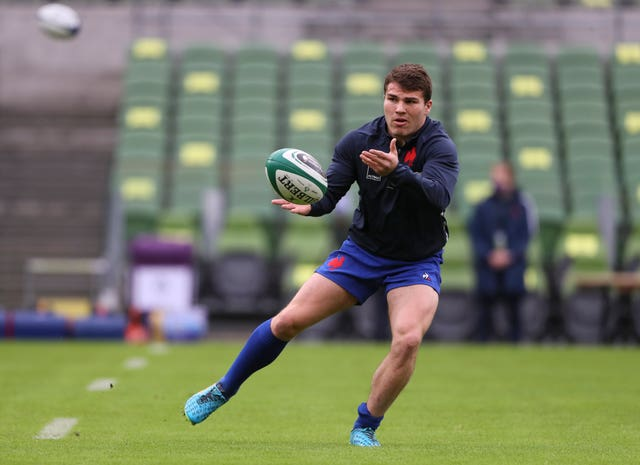 Star scrum-half Antoine Dupont will miss France's Six Nations match with Scotland after testing positive for coronavirus