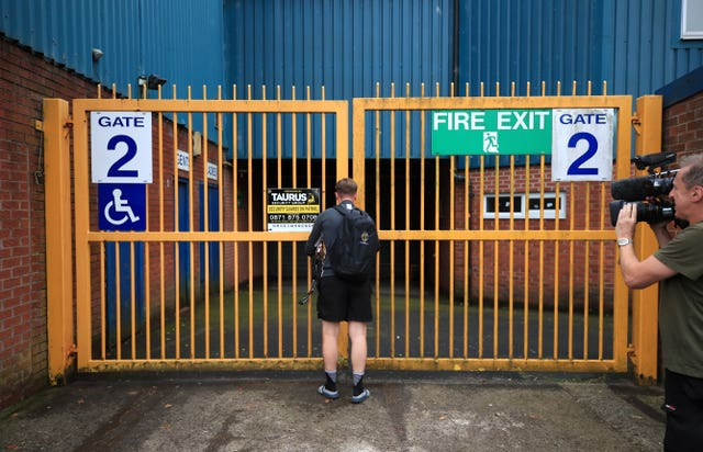 A liquidator could be brought in to sell off Bury's assets, inclduing the club's Gigg lane ground