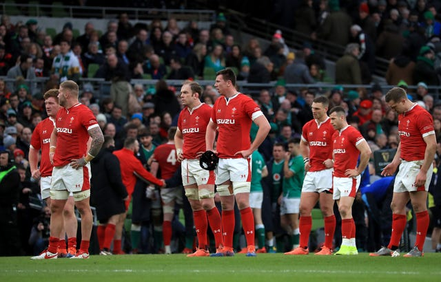 Wales' Grand Slam hopes were ended by a dominant Ireland display in Dublin
