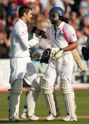 James Anderson and Monty Panesar were England's unlikely heroes