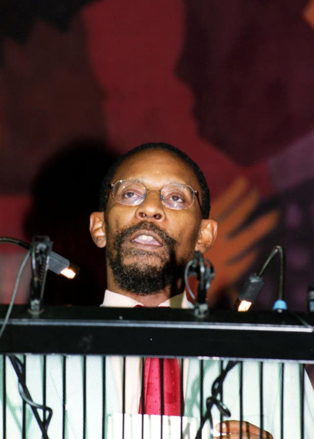 Bernie Grant tribute Kwesi Johnson