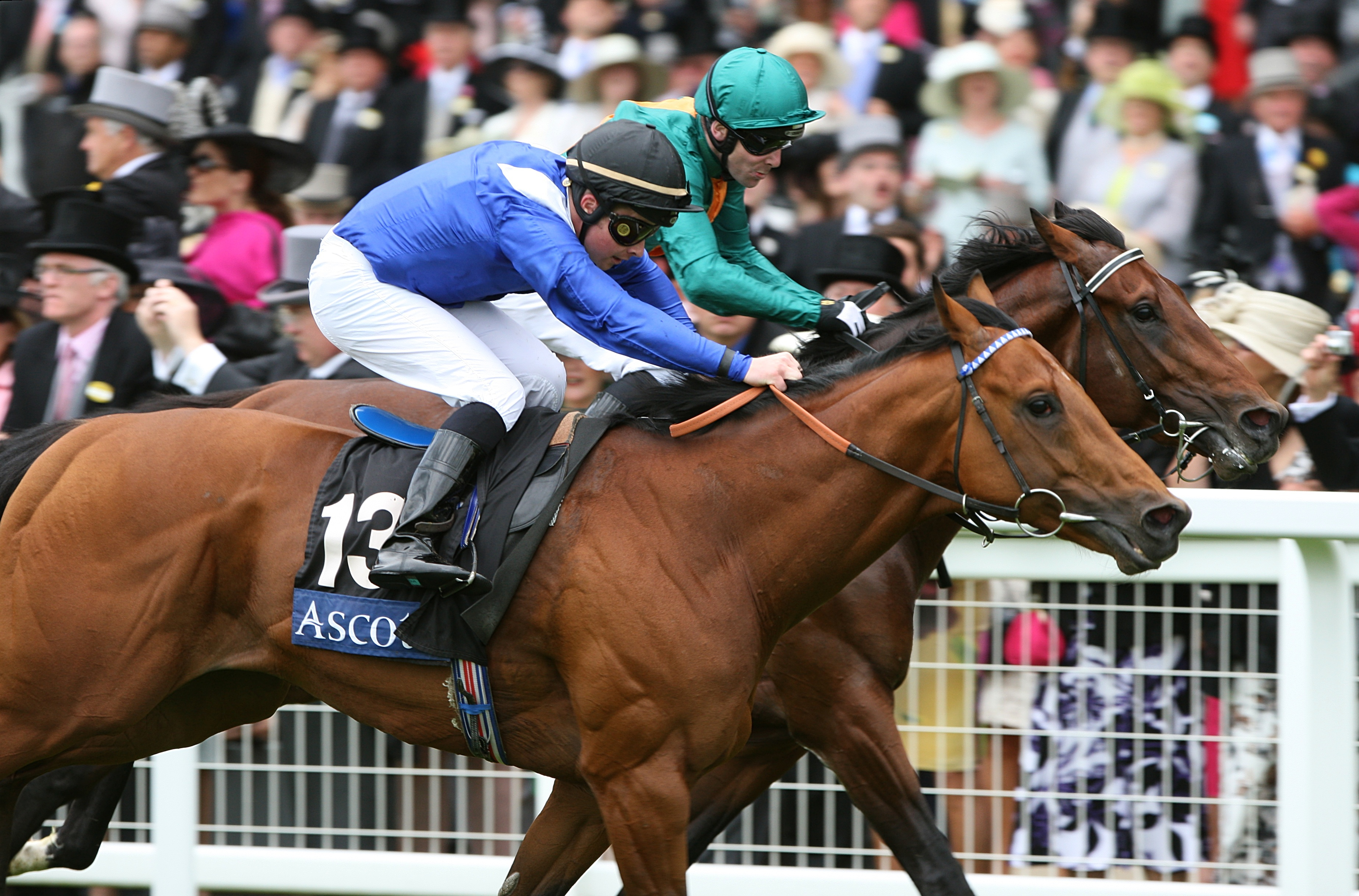 Tadhg O'Shea enjoyed Royal Ascot glory with Ouqba in 2009