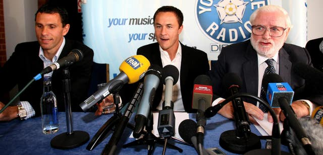 Dennis Wise had an up and down time at Elland Road