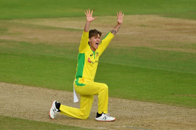 Adam Zampa impressed with the ball