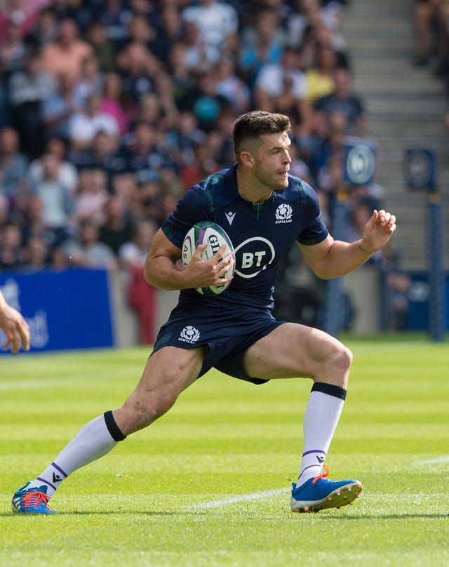 Blair Kinghorn came off the bench against France home and away